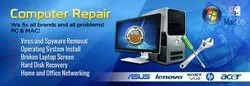 Location Visit Computer Repairing Services, Whole System