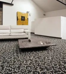 Black Wall To Wall Carpet, For Home