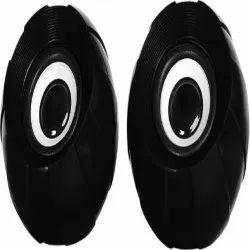 Black Punta Pearl Computer Speakers, For Audio Speaker