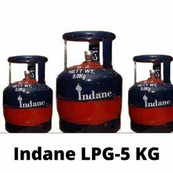 5 KG Indane LPG Gas Cylinder