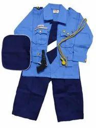 Kids Blue Air Force Pilot Costume