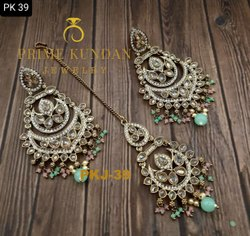 Golden Copper PKJ-39 Handmade Dangle Earring