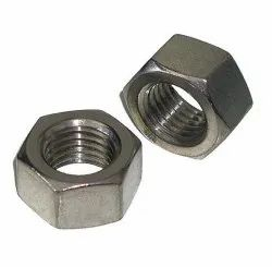 Hexagonal Stainless Steel Hex Nut, Size: M6