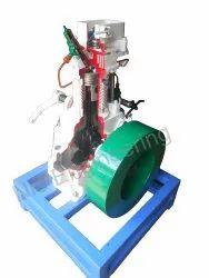 Single Cylinder Diesel Engine Cut Sectional Model