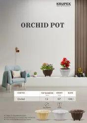 Orchid flower pots