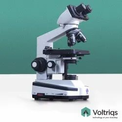 40x To 1000x Binocular Co-axial Research Microscope, For Microbiology, Led