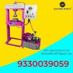 Semi Automatic Biodegradable Paper Plate Making Machine