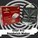 Sandwich Toaster Chef Pro White