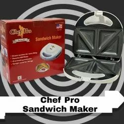 Sandwich Toaster Chef Pro White, Power: 800 W