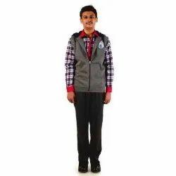 Cotton Full Sleeves Boys School Uniform