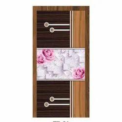 Floral Printed Decorative Wooden Laminated Door