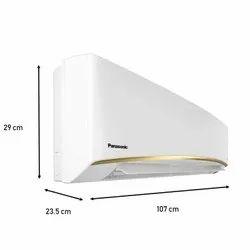 Panasonic CS/CU-TU18WKY 1.5 Ton 5 Star Wi-Fi Twin Cool Inverter Split AC (Copper)