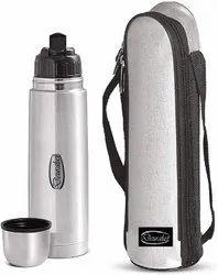 Deuralux Thermosteel Flip Lid Flask, 1 Liters,Premium Stainless Steel Vacuum Flask