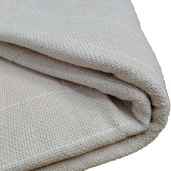 Huck Embroidery Monks Fabric