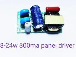85-300volt LED 8-24w 300mA Panel Driver, 1