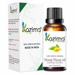 KAZIMA 100% Pure Natural & Undiluted Ylang Ylang Oil