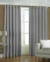 Plain Poyester Door  Curtains