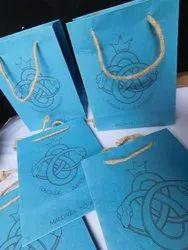 定制丝网印刷手工纸袋缎带处理,2