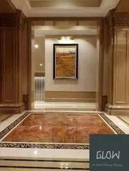 Hotel Indoor Marble Inlay Work Service