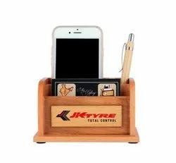 Customized Wooden Pen Stand