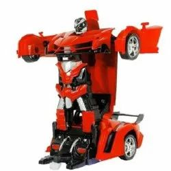 Red Remote Control Robot Toy Car, No. Of Wheel: 4