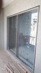 Monarch Steel Modern Slim Aluminium Sliding Windows, For Home, Size/Dimension: 25mm Interlock Base
