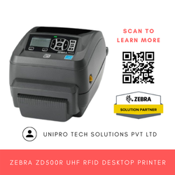 Zebra ZD500R UHF RFID Desktop Printer