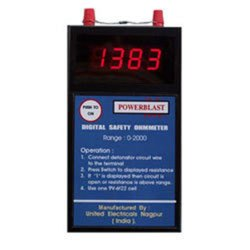 Digital Safety Ohm Meter