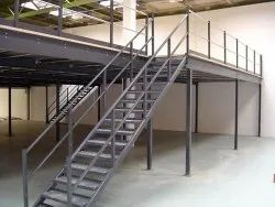 Mild Steel Prefabricated MS Staircase
