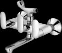 Plantex Orna Wall Mixer Telephonic With Crutch For Arrangement Of Telephonic Shower (wall Mounted)