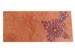 Paper Orange Printed Envelope, For Events