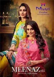Mishri Creation Meenaz Vol 5 Cotton Karachi Printed Dress Material Catalog
