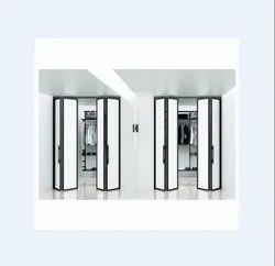 White Sliding Partition Folding System, For Home, 5-8 Mm