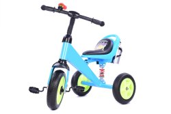 3 - 5 Years Blue Plastic Kids Tricycle