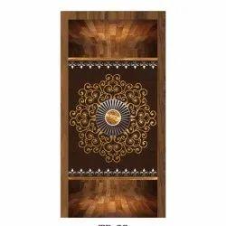 Brown Plywood Door