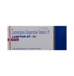 Lamitor DT 25mg Tablets