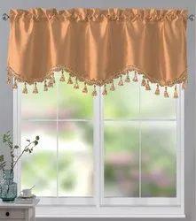 Silk Scallop Curtains