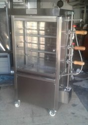 SS Chicken Grill Machine