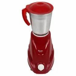 Stainless Steel Red Quba 3 Jar 550 Watt Mixer Grinder Mixie, For Wet & Dry Grinding, 501 w - 750 W
