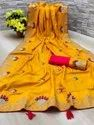 DOLA SILK SAREE  FOR WOMEN WITH BLOUSE