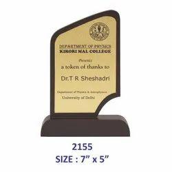 Wooden Trophy Plaques