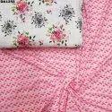 Digital Print 4 Way Bubble Dobby Silk Fabric