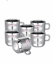 Tea D Line Steel Cup