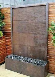 SS,Glass Glass Water Curtain Screen Fountain