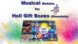 Musical Modules for Holi Gift Boxes Singing Voice Musical Record Able Customized
