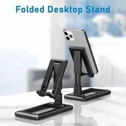 Plastic Black Desktop Mobile Stand, Size: Medium, Model Name/ Number: Desk Phone Holder