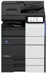 Konica Minolta 450i Model 45 Copy Per Minute Speed  Black and White - Mono Xerox Machine