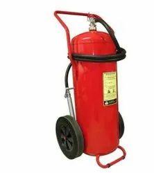 Mechanical Foam Trolley Type Fire Extinguisher, Capacity: 25 Kg
