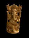Ganesh Ji Wooden Murti 8 Inch