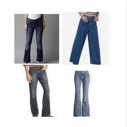 Plain Comfort Fit Bootcut Jeans